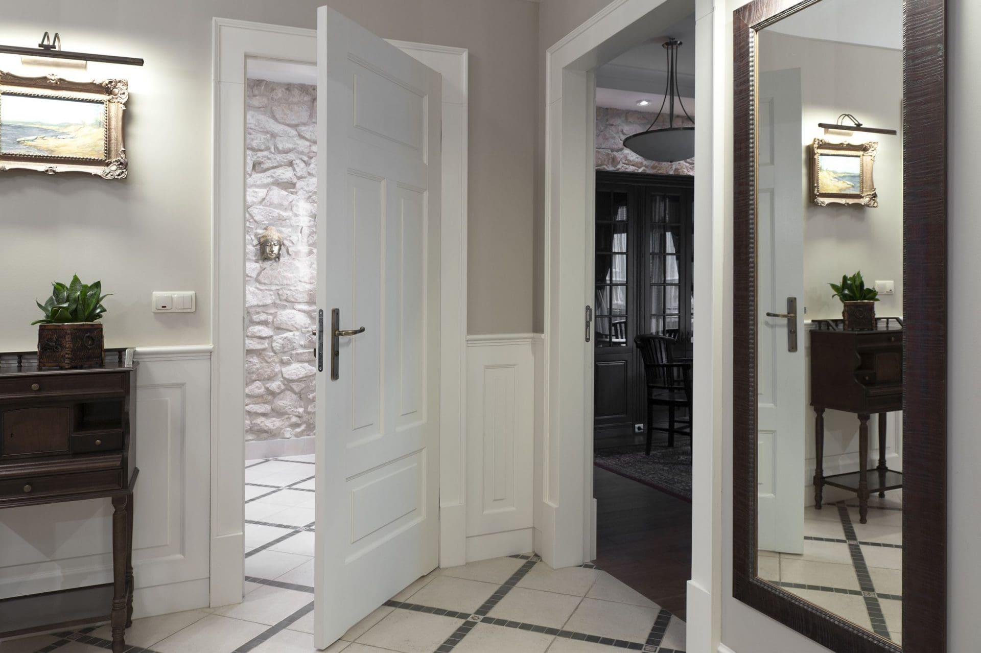 Projekty wnętrz - korytarz