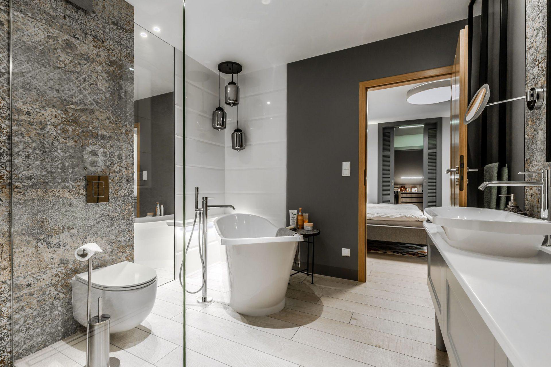 Projekty wnętrz - łazienka
