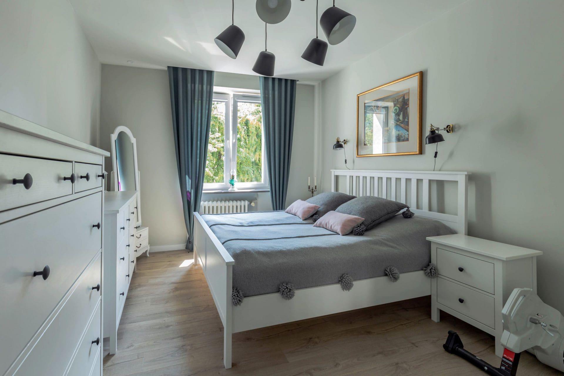 Projekty wnętrz - sypialnia